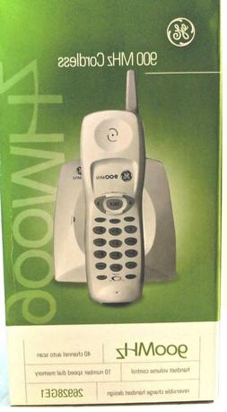 GE Cordless Telephone 900 MHz Single Line General Electric P