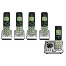 VTech CS6629-5 Cordless Phones with Base and Chargers and DE
