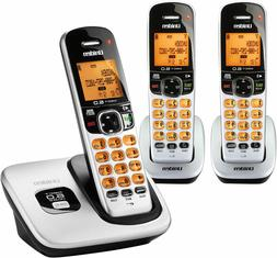 D1760-3 DECT 6.0 Expandable Cordless Phone with Caller ID, S