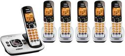 Uniden D1780 Cordless Phone with 5 DCX170 Extra Handsets