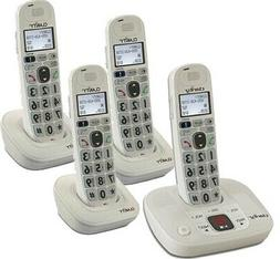 d712c3 four cordless handsets amplified low vision