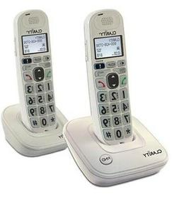 Clarity DECT 6.0 Amplified/Low Vision Cordless 2HS Phone w/