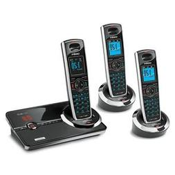 Uniden DECT 6.0 Black Cordless Telephone System with Interfe