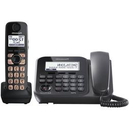 Dect 6.0+ Corded/Cordless, ITAD,1 HS, bk