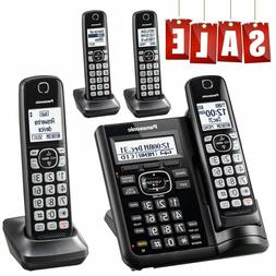 Panasonic DECT 6.0 Cordless Phone with Answering System Call
