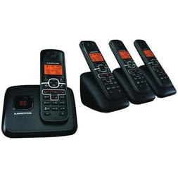 Motorola DECT 6.0 Enhanced Cordless Phone with 4 Handsets an