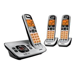 DECT 6.0 with 3 handsets and TAD
