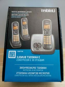 Uniden DECT1480-3 1.9 GHz Trio Handsets Single Line Cordless