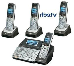 Vtech DS6151 DECT 6.0 2-Line Cordless Phone with 3 DS6101 Te