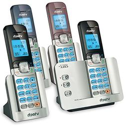 VTech DS6511-4A 4-Handset DECT 6.0 Cordless Phone with Bluet