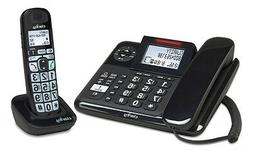 CLARITY-E814CC 40dB Amplified Corded/Cordless Combo Phone, C