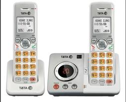 AT&T EL52253 Cordless Phone with 2 Handset, Answering System