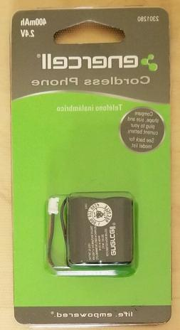 ENERCELL CORDLESS PHONE BATTERY 23-1280 - 2.4V 400mAh RadioS