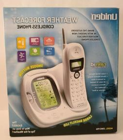 Uniden EWCI936 900 MHz Analog Cordless Phone w Weather Displ
