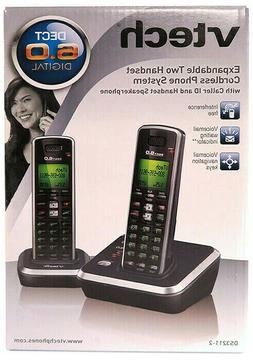 Vtech Expandable 2 Handset Cordless Phone Sys