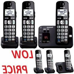 Panasonic Expandable Cordless Digital Phone with Large Keypa