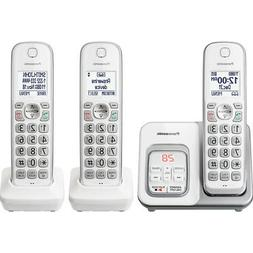 Panasonic Expandable Cordless Phone with Call Block and Answ