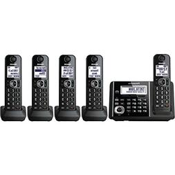 Panasonic Expandable KX-TGF345B Cordless Phone with Answerin