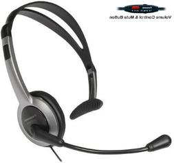Panasonic Hands-Free Headset with Foldable Comfort Fit Light
