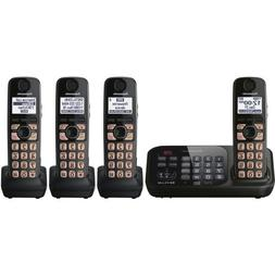 Panasonic KX-TG4744B DECT 6.0 Cordless Phone with Answering