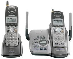 Panasonic KX-TG5432M 5.8 GHz Platinum Cordless Phone with An