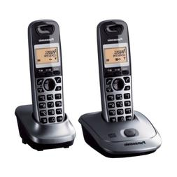 Panasonic KX-TG2522 2-Handset Digital Cordless Telephone wit