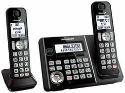 Panasonic KX-TG3752B Expandable Cordless Phone with Call Blo