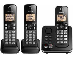 PANASONIC KX-TG633SK 6.0 PLUS 3-Handset Expandable Digital C