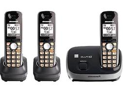 PANASONIC KX-TG6513B DECT 6.0 Cordless Phone System with Cal