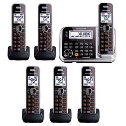Panasonic Link2Cell KX-TG7875S DECT 6.0 1-Line Bluetooth Cor