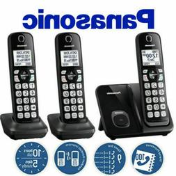 Panasonic KX-TGD513B Expandable Cordless Phone with Call Blo