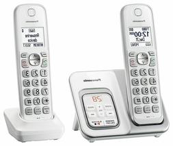 kx tgd532w expandable cordless phone w call