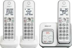 Panasonic KX-TGD533W Expandable Cordless Phone with Call Blo