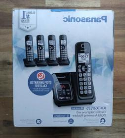 Panasonic KX-TGD535M Expandable Cordless Phone with 5 Handse