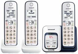 Panasonic KX-TGD563A Bluetooth Cordless Phone with Voice Ass