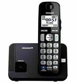 PANASONIC KX-TGE210B DECT 6.0, Expandable Cordless Phone wit