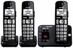 Panasonic KX-TGE233B Expandable Cordless Digital Phone with