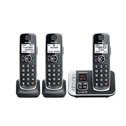 Panasonic KX-TGE663B Link to Cell Voice Assist Cordless Phon