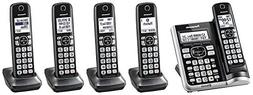 Panasonic KX-TG785SK Link2Cell BluetoothCordless Phone with