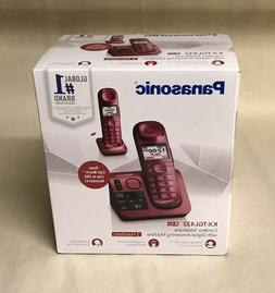 Panasonic KX-TGL432R DECT 6.0 Cordless Phone with Digital An