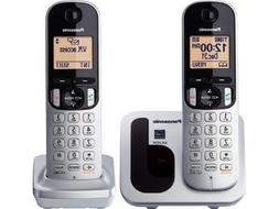 Panasonic Expandable Cordless Phone KX-TGC212S DECT 6.0 - 2