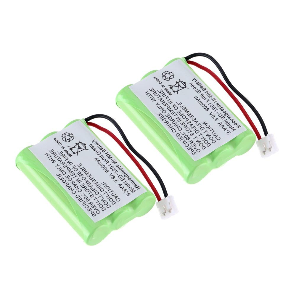1-4Pcs <font><b>Cordless</b></font> <font><b>Phone</b></font> Battery For SD-7501 V-Tech 89-1323-00-00 <font><b>AT&T</b></font> Lucent 27910
