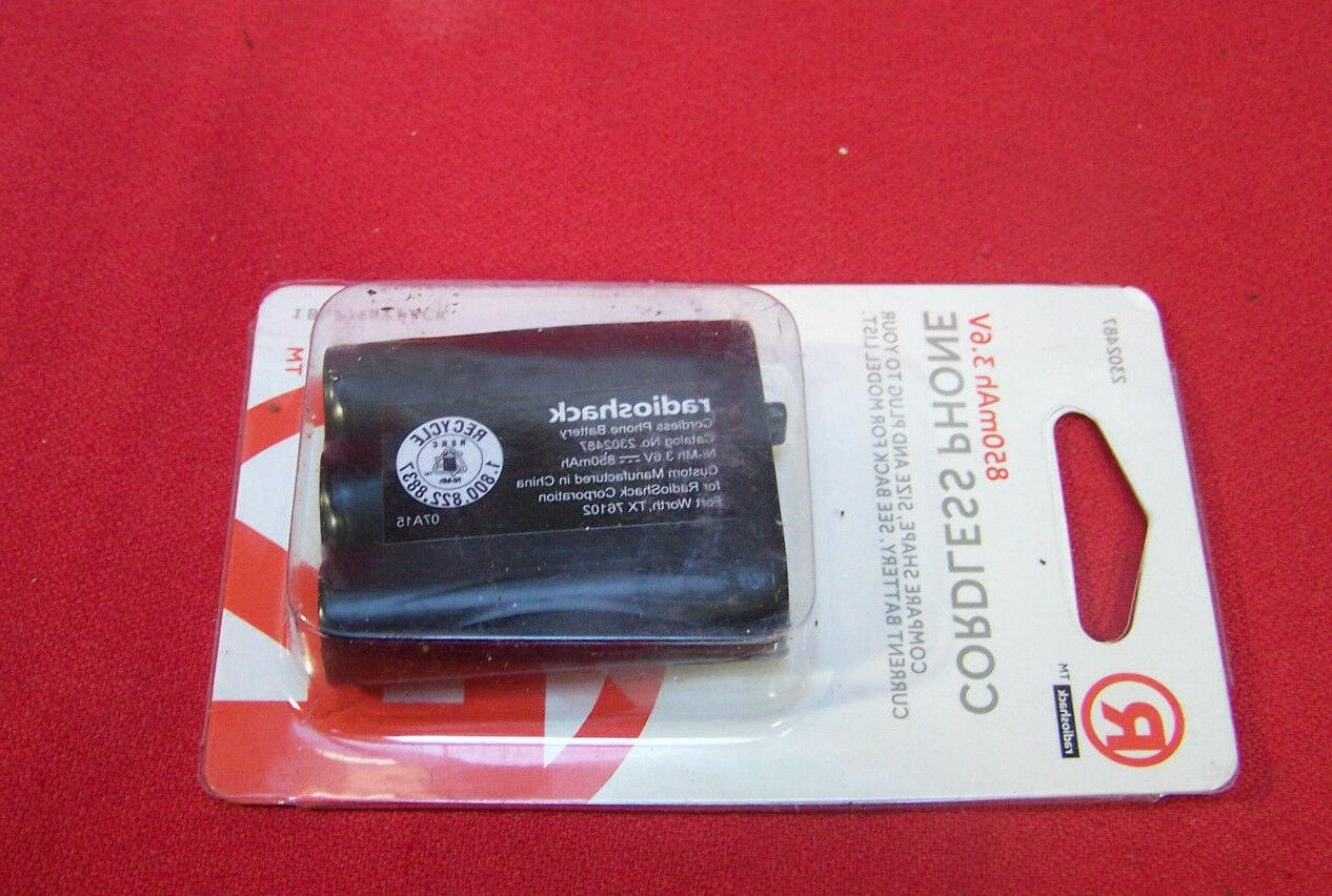 2302543 2302487 cordless phone battery panasonic hhr