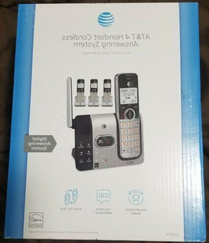 4 handset cordless answering system