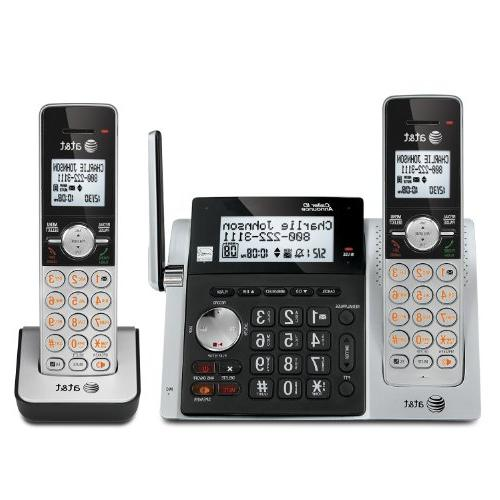 AT&T CL83203 DECT 6.0 Expandable Cordless Phone with Answeri