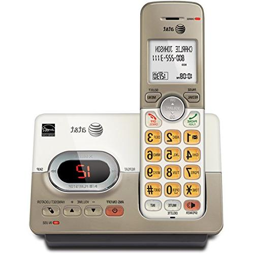 AT&T EL52113 Single Handset Expandable Cordless Phone Answering System & Extra-large Backlit