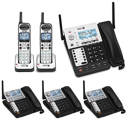 AT&T SynJ 4-Line Corded/Cordless Business Phone System with
