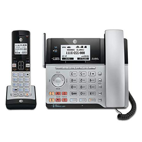 AT&T DECT 6.0 Connect Cell 2 Caller ID/Call Corded Cordless Handset,