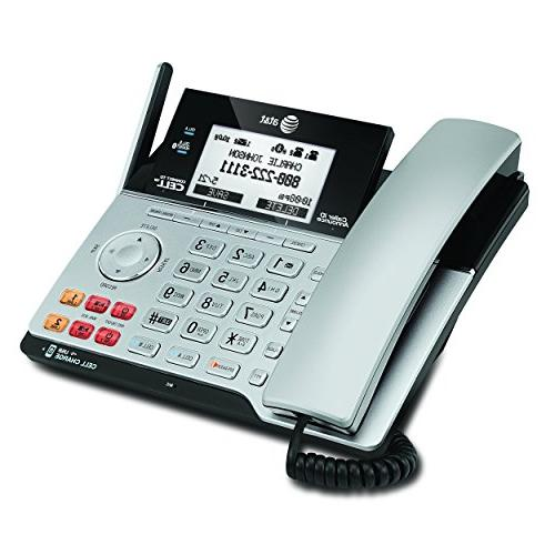 AT&T DECT 6.0 Connect to Cell Line Answering System Caller ID/Call 1 Handset,