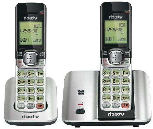 CS6519-2 Two Handset Cordless Phone with Caller ID/Call Wait